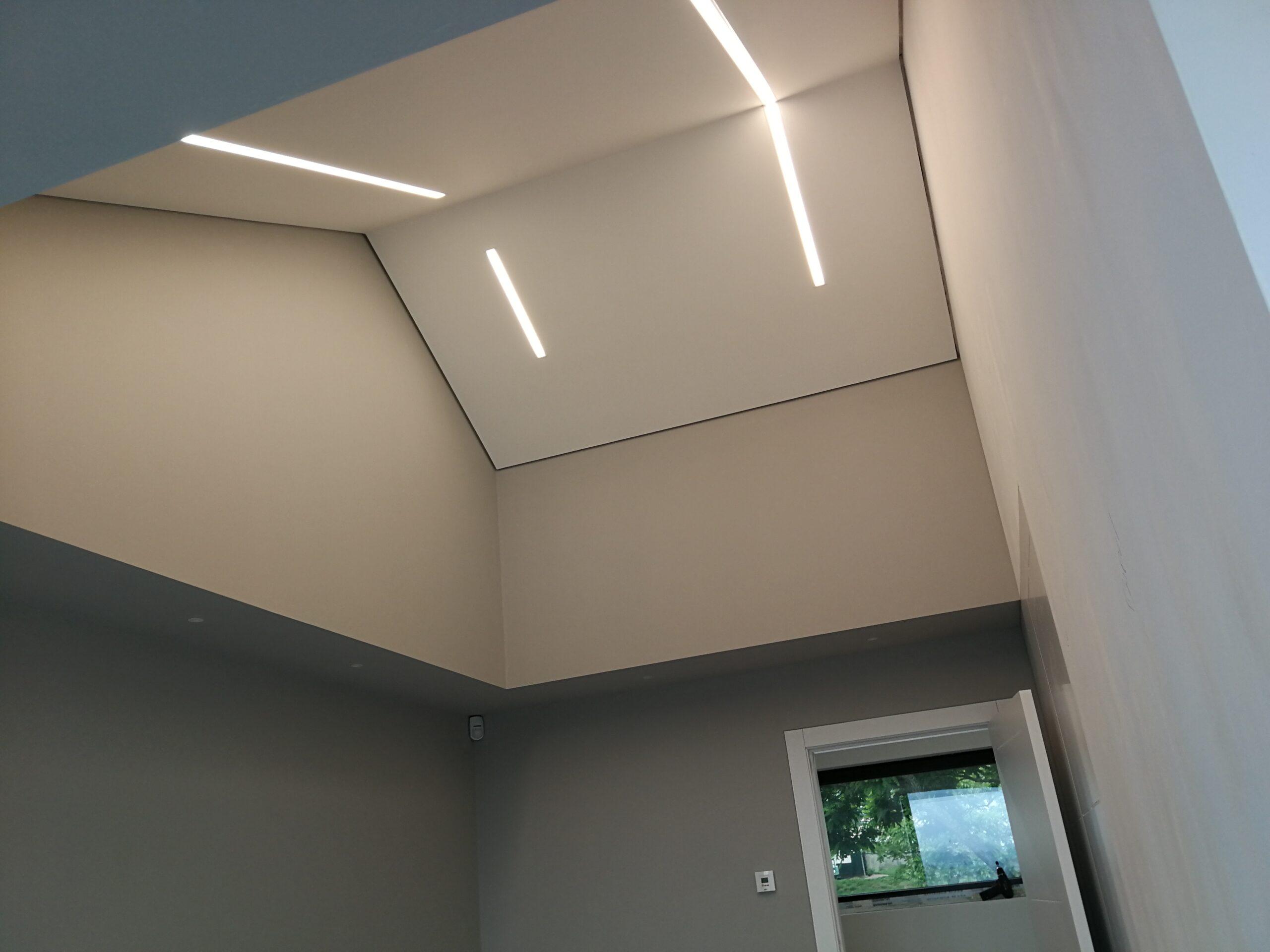 Perfiles LED en el hogar